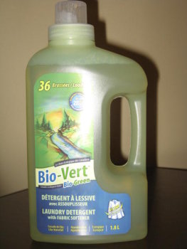 Laundry Detergent with Fabric Softener by BioGreen
